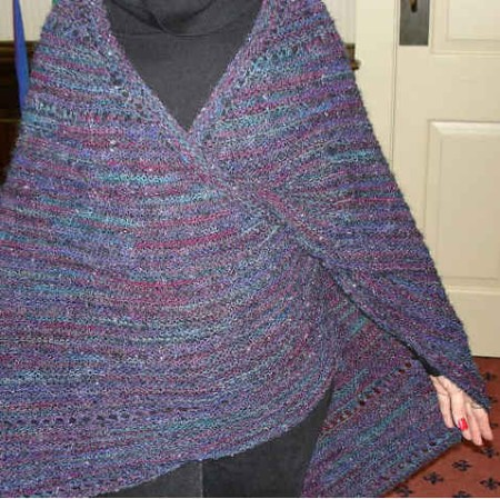 HeartStrings Troika Wrap-Around Faroese Shawl