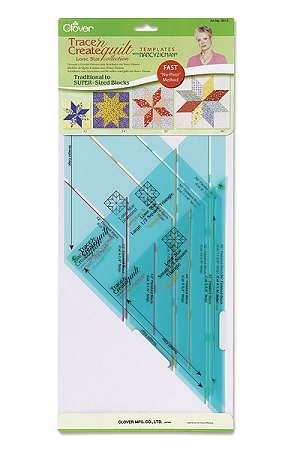 Traceable Quilting Templates : Clover Trace n Create Quilt Templates