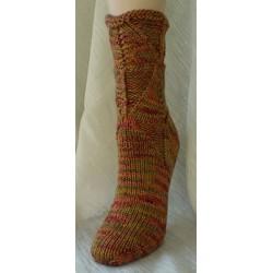 HeartStrings Shapely Sandal Socks