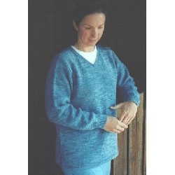 Chic Knits Aleita Vest or Pullover Sweater Knitting Pattern