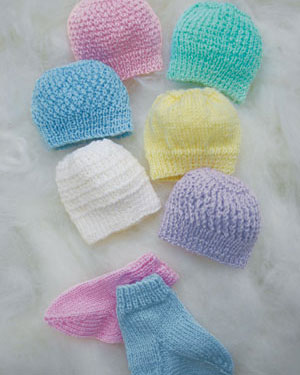 FREE KNITTING PATTERNS FOR PREMIE HATS FREE PATTERNS