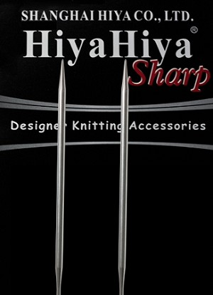 "HiyaHiya SHARP 32"" Stainless Steel Circular Knitting Needles"