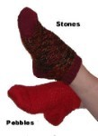 Y2Knit Pebbles and Stones Sock Pattern