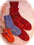 HeartStrings Basic Toe-to-Cuff Socks