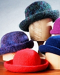 Fiber Trends Crocheted Felt Hat