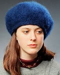 Fiber Trends Brushed Felt Beret