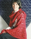 Fiber Trends Queen of Hearts Shawl