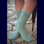 Fiber Trends Raindrop Lace Socks