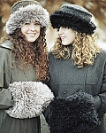 Fiber Trends Winter In The City Hat & Muff