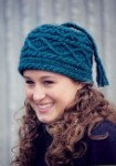 Fiber Trends Braids & Bobbles Hat