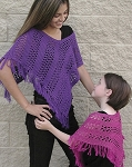 Fiber Trends Easy Lace Poncho