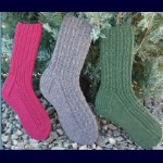 Fiber Trends Chain of Hearts Socks