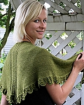 Fiber Trends Lace Panel Shawl & Scarf