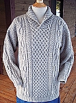 Big Sky Knitting Designs Cozy Shawl-Collar Pullover