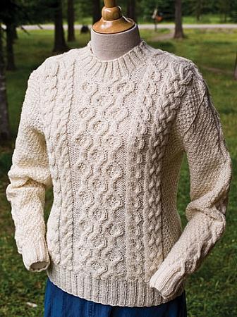 Big Sky Knitting Designs Plain Vanilla Aran