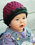 Fiber Trends Berry Cute Hat