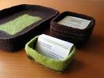 Cocoknits Felted Desk Accessories