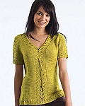 Naturally Lace Panel Shaped Top