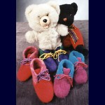 Fiber Trends Children's Felt Boot Slippers