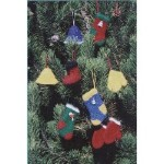 Fiber Trends Felt Christmas Ornaments