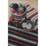Fiber Trends Crocheted Felt Rug & Basket