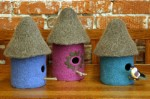 Fiber Trends Felt Bird Houses