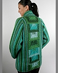 Fiber Trends A Jacket For All Seasons - Long Shawl Collared version