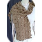 HeartStrings Beaded Lace Scarf II