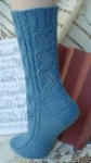 HeartStrings Concertina Lace Socks Knitting Pattern