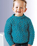 Naturally Child's Cable Pullover