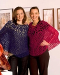 Naturally Crocheted Poncho/Capelet