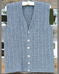 Big Sky Knitting Designs Chief Cliff Vest