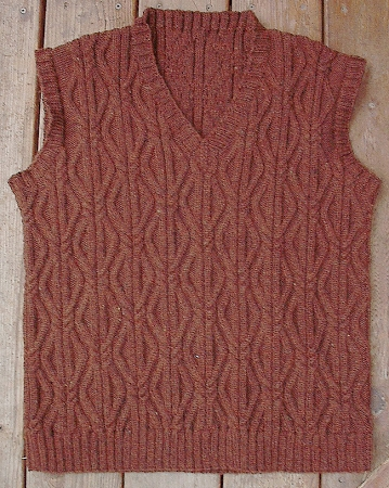 Knitting Pattern Designers : Big Sky Knitting Designs Escher Vest