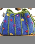 Big Sky Knitting Designs Garden Party Tote