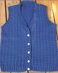Big Sky Knitting Designs Sidecurl Vest