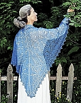 Fiber Trends The Peace Shawl