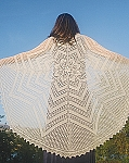 Fiber Trends Circle of Life Shawl