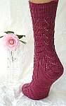HeartStrings Down and Up Lace Socks