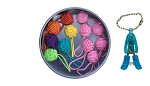 Nirvana Yarn Ball Stitch Marker Gift Tin