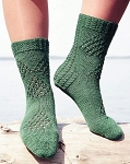 Fiber Trends Fidalgo Feet - Northwest patterned socks