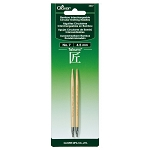 Clover Takumi Bamboo Interchangeable Circular Knitting Needle Tips