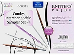 Knitter's Pride Interchangeable Comby Knitting Needle Sampler Sets