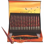 Knitter's Pride Limited Edition Golden Light Interchangeable Gift Needle Set