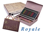 Knitter's Pride Limited Edition Royale Interchangeable Gift Needle Set