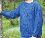 Big Sky Knitting Designs Happy Husband Aran P046