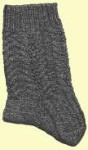 Y2Knit Deckled Cable Sock Pattern
