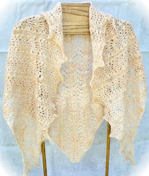 HeartStrings Elegantly Simple Triangle Shawl