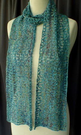 HeartStrings Lacy Serpentine Scarf