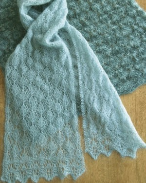 Fiber Trends Cocoon Lace Scarf or Wrap