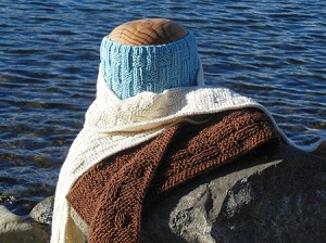 Fiber Trends Double Damask Scarf and Cowl